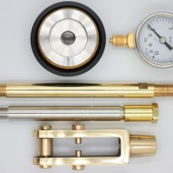 Gold Brass piston pressure kit for the La Pavoni EP or Pro 2