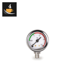 La Pavoni Lever chrome boiler Pressure Gauge code 453040