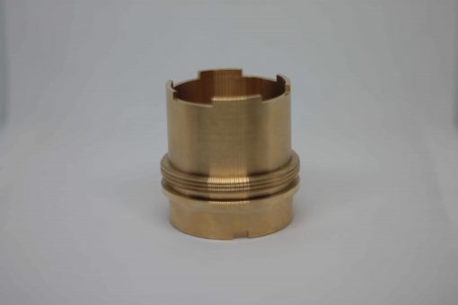 La Pavoni Custom Made Brass Sleeve Jacket