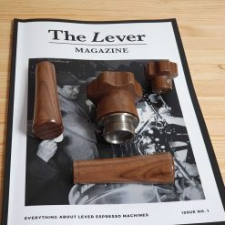 La Pavoni Lever wood handles and knobs custom made kit