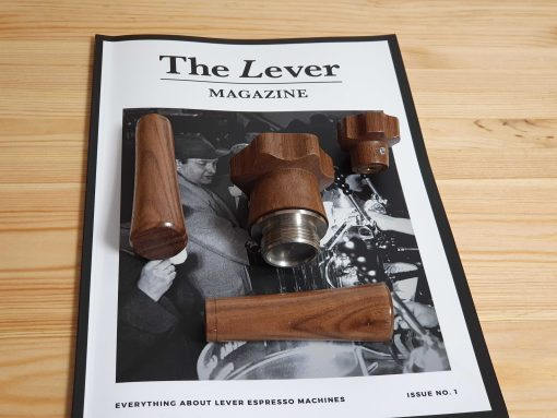 La Pavoni Lever wood handles and knobs custom made kit