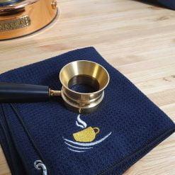 La Pavoni Lever Custom Gold Brass Dosing Funnel