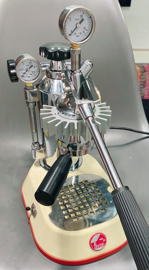Restored and Fully upgraded La Pavoni Vintage 1970 coffee machine