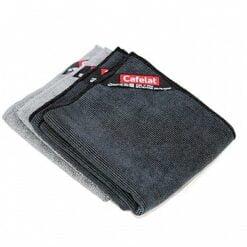 Cafelat Micro fiber cloth set of 4 pcs (grey and black)