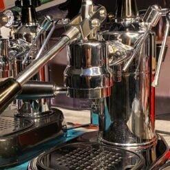 coffee sensor restored and upgraded post mill la pavoni